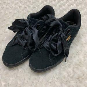 Puma Suede Heart Satin II Women's Sneakers Size 8